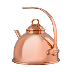 Service en salle Copper plated tea kettle