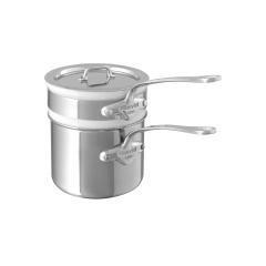 M'cook stainless steel Bain marie with porcelain insert