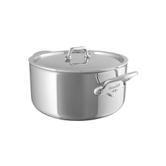 M'cook stainless steel Rondeau with stainless steel lid
