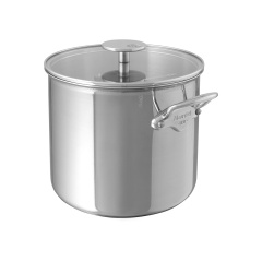 M'cook stainless steel Stockpot with glass lid