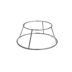 Les accessoires Support inox pour bassine 1/2 sphérique