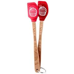 Les accessoires Set de 2 mini spatules Cupcake Tovolo
