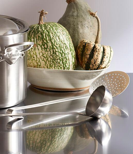 Indispensables accessoires  pour compléter la famille Mauviel1830